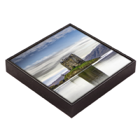 Castle Stalker, Loch Laich, Framed Tile  JK_06_FT